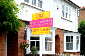Trend & Thomas House Sold board