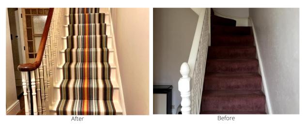 staircase b&f